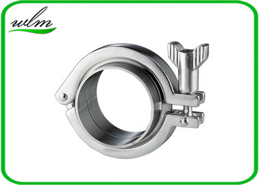 China Adjustable Heavy Duty Clamps Stainless Steel Hygienic Fittings 2-6bar Pressure supplier