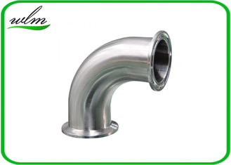 China Stainless Steel Sanitary Pipe Fittings Bends Pipe Fitting High Pressure Resistant supplier