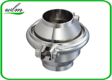 China High Sanitation Sanitary Check Valve For Water Pipelines , Weld Connection End supplier