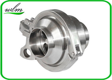 China Durable Hygienic Non Return Check Valve Butt Weld End One Way Flow Direction supplier