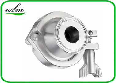 China Pharmaceutical Sanitary Stainless Steel Check Valve With Acid And Corrosion Resistance supplier