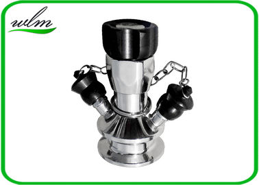 China Manual Operated Hygienic Sample Valves With Tri Clamp Sample Inlet Connection supplier