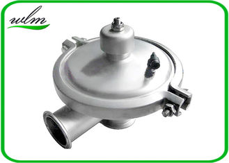 China Food Grade Sanitary Constant Pressure Regulating Valve With Tri Clamp Connection supplier