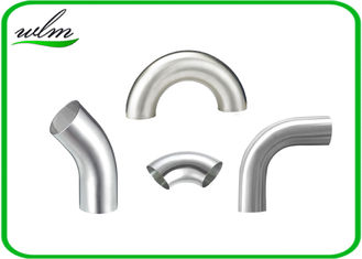 China Durable Sanitary Pipe Fittings Elbow Pipe Fittings Union Connection For Food Industry Yogurt supplier