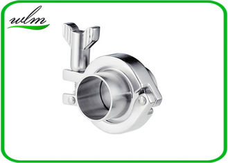 China Stainless Steel Sanitary Tri Clamp Fittings Short Type For Food Industries supplier