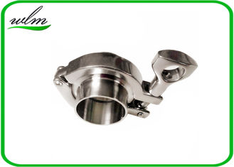 China BS4825-3 Tri Clamp Coupling Sanitary Stainless Steel Quick Clamp Tube Fittings supplier