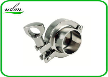 "China SMS3017 Sanitary Tri Clamp Fittings Aseptic Clamp Pipe Coupling 1""-4"" supplier"