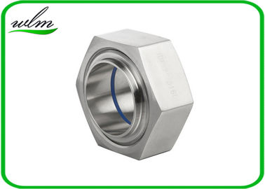 China ISO2853 Hygienic Stainless Steel Union Couplings Hexagon Nut Type 1 Inch-4 Inch Size supplier
