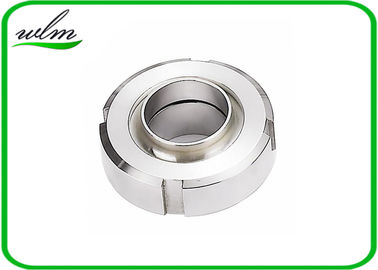 China Sanitary Aseptic SS Screwed Union Couplings Connections With Weld On Ends DN8-DN 80 DIN11864-1 supplier