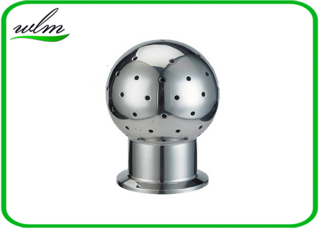 Fixed Tank Sanitary Stainless Steel Spray Ball With Tri Clamp