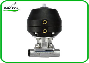 Hygiene Degree Straight  Sanitary Diaphragm Valve For Dairy Beer Chemical