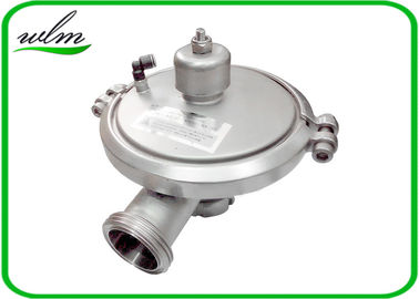 Male Thread Sanitary Pressure Relief Valve , Stainless Steel Pressure Relief Valve