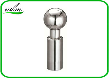 360 Degree Rotary Sanitary Spray Balls Stainless Steel Butt Weld Connection End