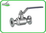 Durable Clamp Sanitary Ball Valves For Hygienic Industry Pipe System
