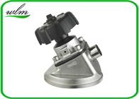 Tank Bottom Sanitary Diaphragm Valve With Butt Weld Connection , Intelligently Designed