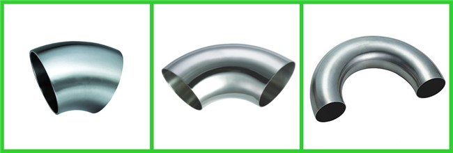 Stainless Steel Sanitary Pipe Fittings Bends Pipe Fitting High Pressure Resistant