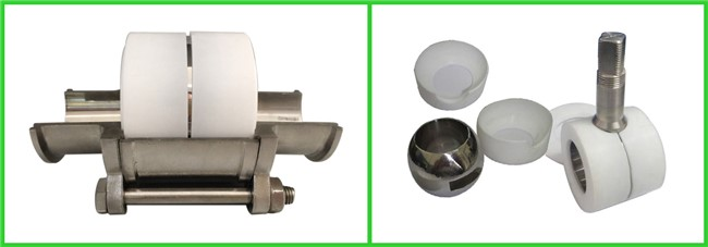 SS304 316L Stainless Steel Sanitary Manual Three Way Ball Valves for Hygienic Pipeline Applications